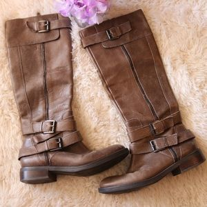 Enzo Angiolini Tall Buckle Boots